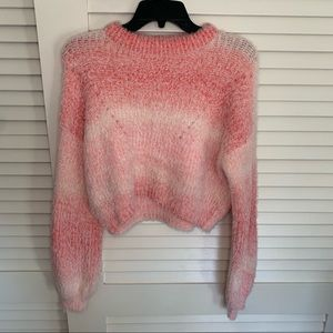 New Wild fable cropped sweater